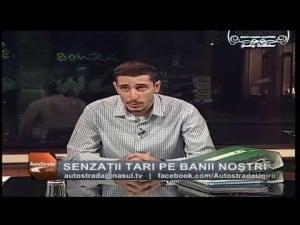 Romania fara gropi in emisiune la Nașul TV – Episodul VII